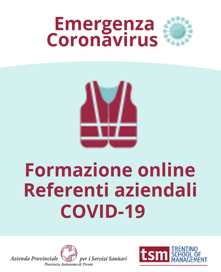 Corso REFERENTE AZIENDALE COVID-19
